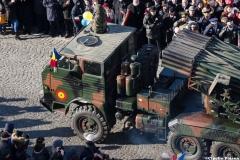 Lansator de rachete la Parada Militara din Vaslui