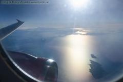 Insulele Grecesti vazute din avion