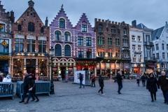 Cladirile din Bruges arata de parca sunt din ciocolata