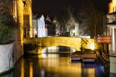 Canale ce strabat superbul Bruges