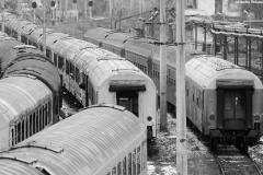 trenuri in depoul din iasi