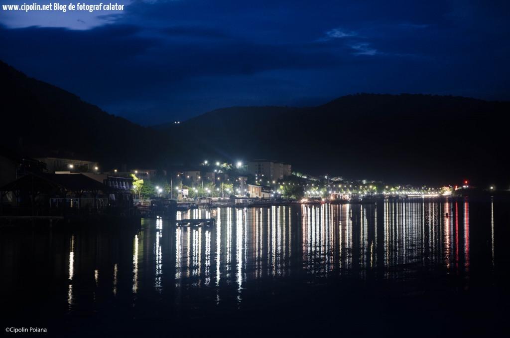 Luminitele orasului la ceas de seara