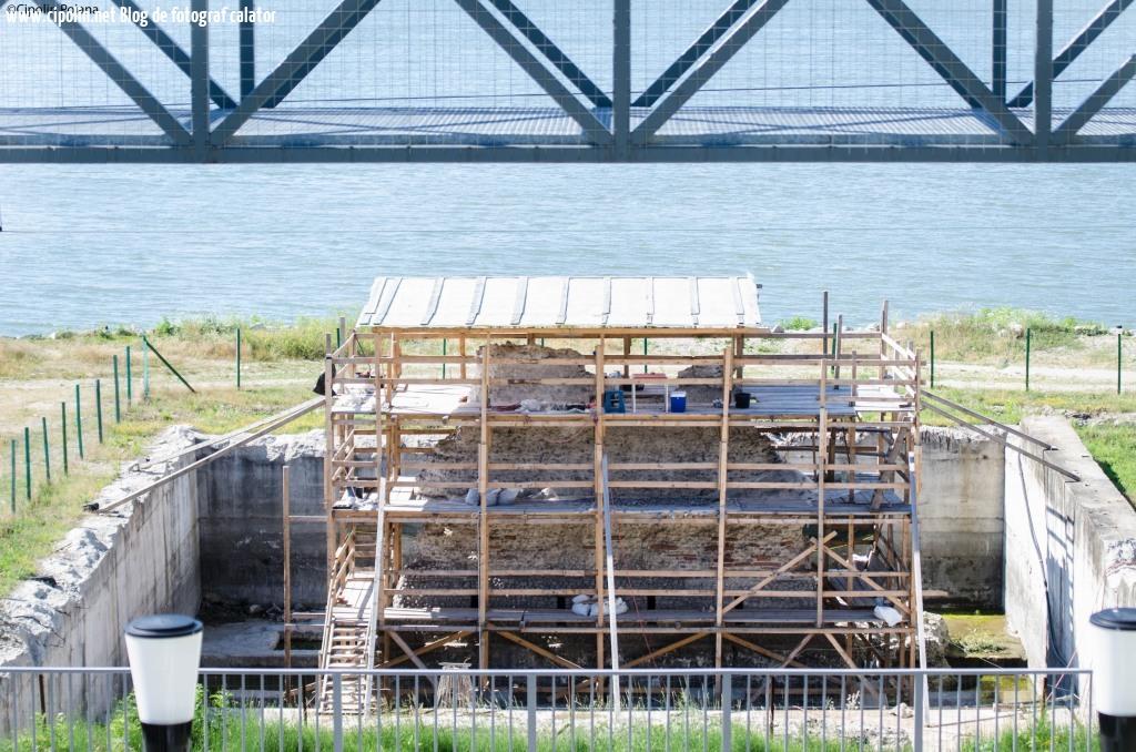 Piciorul podului lui Traian, ce a mai ramas din el