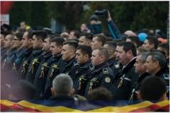 Politistii locali din Vaslui, prezenti in centru de 1 decembrie