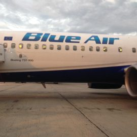 "Premiera! Blueair ofera pasagerilor ""masti si dezinfectant"" in lupta cu ""covid-19""!"