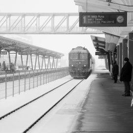tren in gara Vaslui