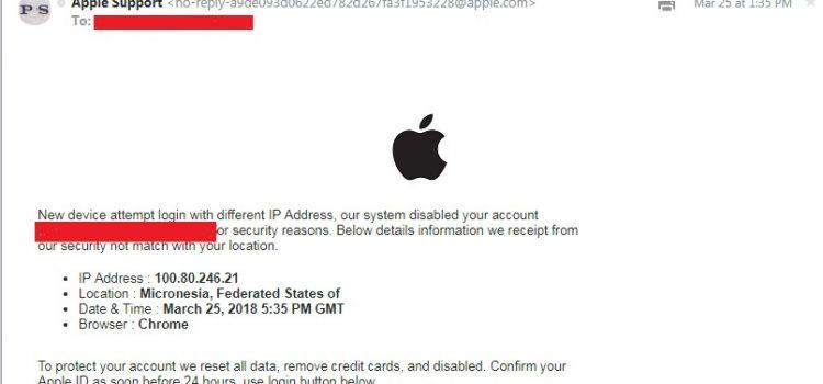 Aveti grija la e-mailurile FAKE!