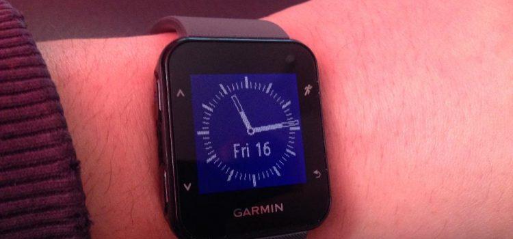 Noul meu ceas sportiv-Garmin Forerunner 30