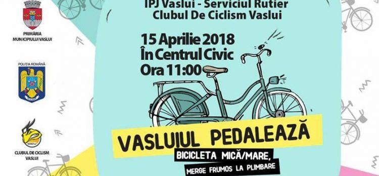 Vasluienii sunt invitati la o plimbare cu bicicleta pe 15 aprilie