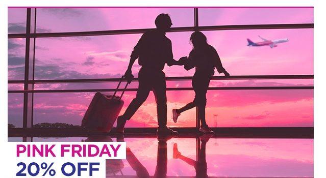Pink Friday Wizzair! Reduceri de 20% la toate zborurile