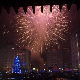 Artificii in Vaslui