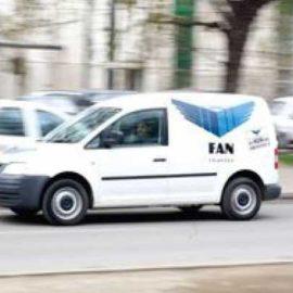 """Nu apelati la serviciile """"Fan Courier""""!"""