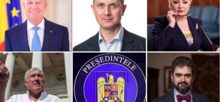 candidatii la presedintie 2019