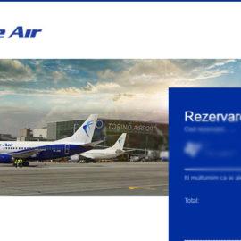 """Cumpara bilet de avion """"blueair"""" cu voucherul Telekom de 100 euro!"""